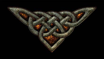 Celtic Knotwork Corner 3