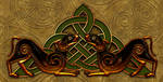 Celtic Knotwork Dogs 8 by Robohippyv2