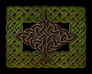 Celtic Knotwork Diamond Combo by Robohippyv2