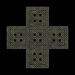 Celtic Knotwork Cross Type 2 V3 by Robohippyv2