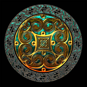 Celtic Knotwork Spirals and Keywork by Robohippyv2