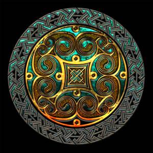 Celtic Knotwork Spirals and Keywork