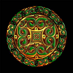 Celtic Knotwork Spirallring by Robohippyv2