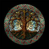 Celtic Knotwork Earth Gate