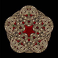 Celtic Knotwork Pentathingy V2