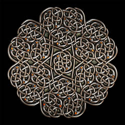Celtic Knotwork Infinity Flower 4