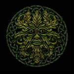 Celtic Knotwork Man the Green V2 by Robohippyv2