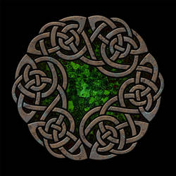 Celtic Knotwork Clover Five