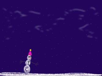 Slow Frozen Melt Man by joedimino