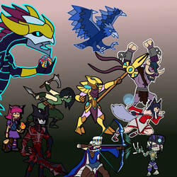 League of Legends champions 1 by Allodoxa85