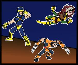 Xmen 90's Cartoon by Allodoxa85