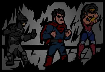 Darkest Justice League Dungeon by Allodoxa85