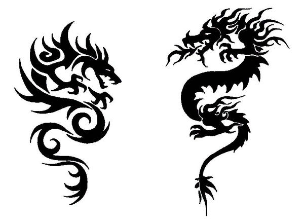 two dragons intertwined images galleries with a bite. Black Bedroom Furniture Sets. Home Design Ideas