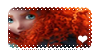 Brave: Merida Stamp by Claualphapainter-95