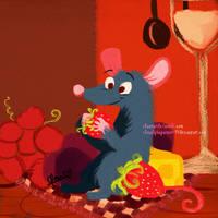 .:Gift: Le Ratatouille:. by Claualphapainter-95