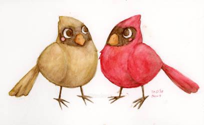 Cardinals by Tadsaur