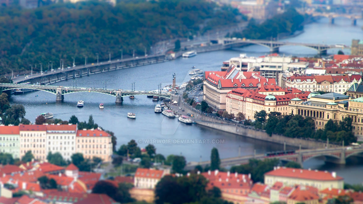 Prague by w3rw01f