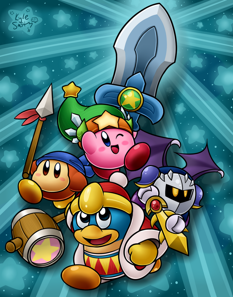 The Gang's All Here by Torkirby