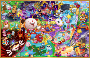 Kirby's 20th Anniversary by Torkirby