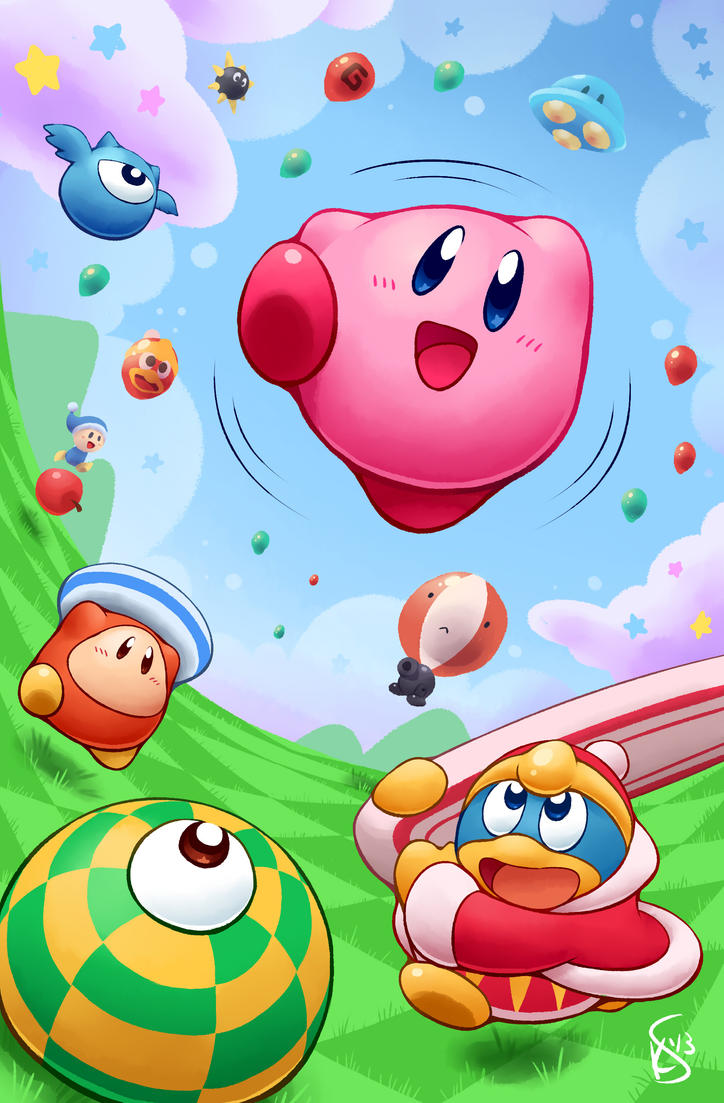 Kirby Tilt 'n' Tumble by Torkirby