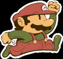Original Mario by Torkirby