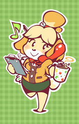 Isabelle - Ready for Work!