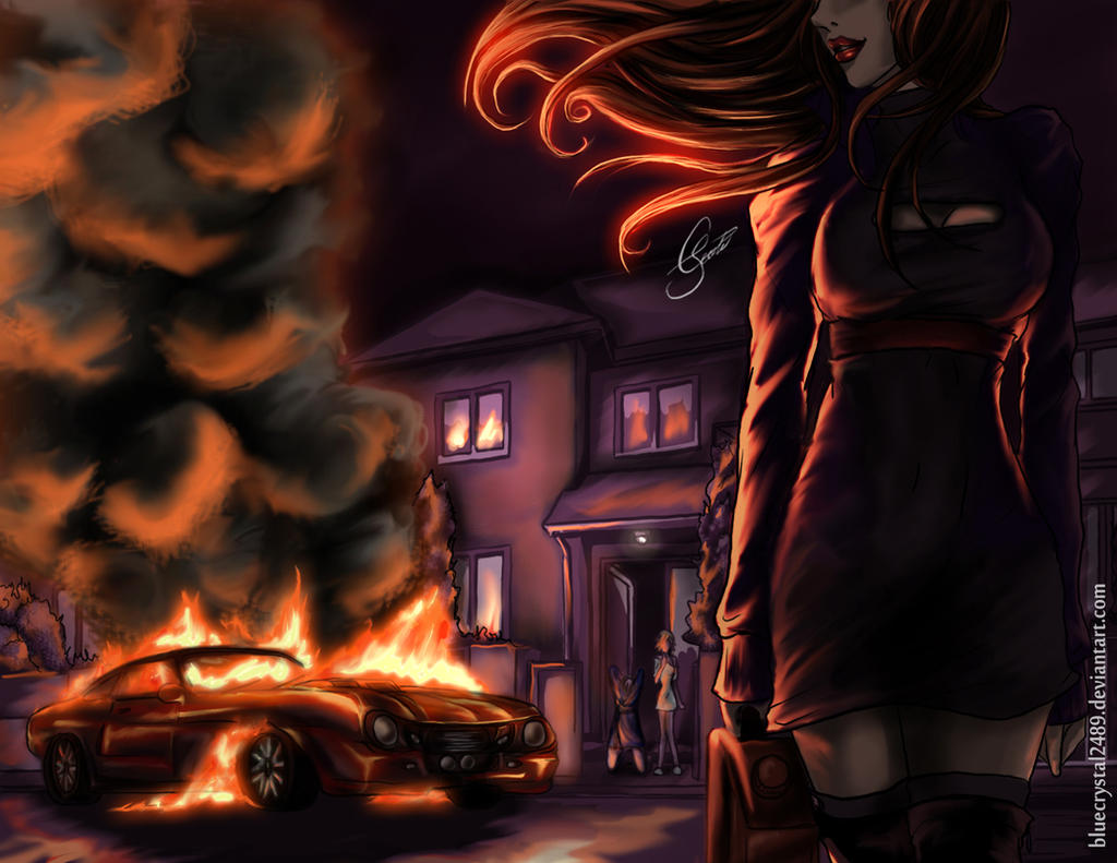 Vindictive Flames by *bluecrystal2489