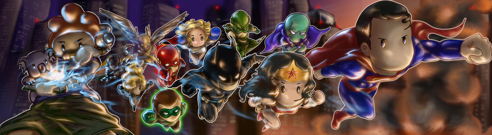 DC Universe Unleashed by crysiblu