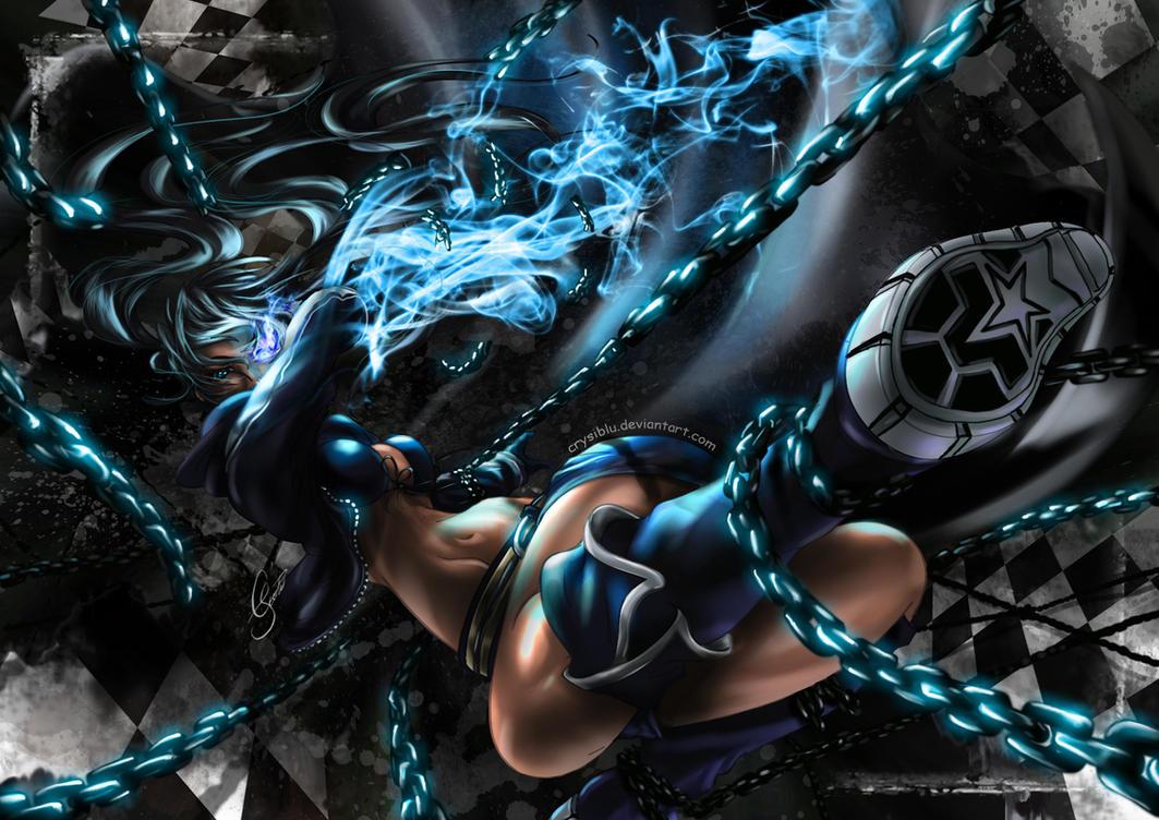 Black rock shooter by crysiblu on deviantart - Fanart anime wallpaper ...