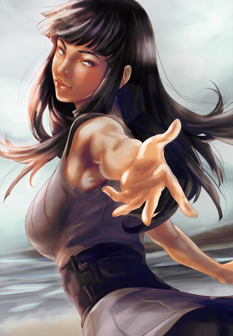 Hinata Base By Artgerm by crysiblu