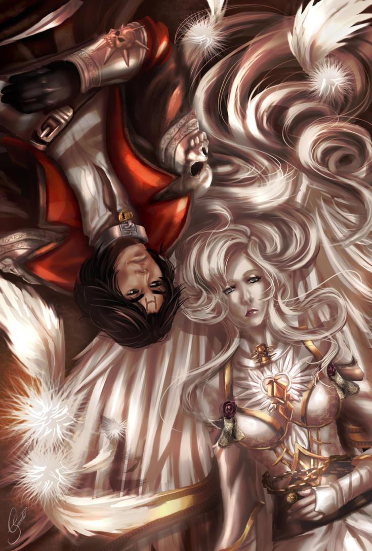 COMMISSION: Zayel and Darius by crysiblu