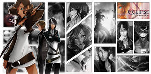 Eclipse Comic Wallpaper