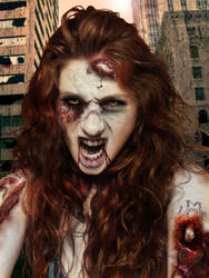 Zombie Heather by PhoenixRaine