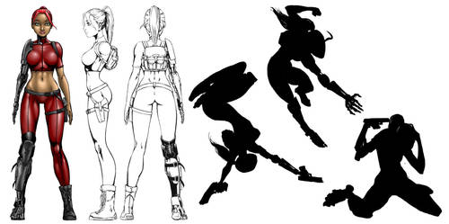 Ashley King character concept