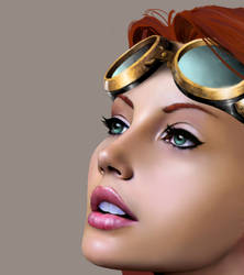 Steampunk Realistic Paint (WIP)