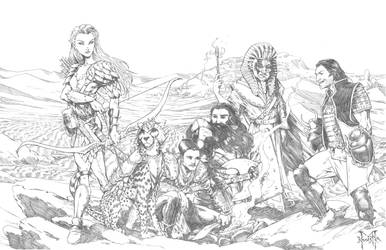 Pathfinder Characters Commission