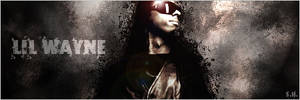 Lil Wayne Black by SimonHamilton2008