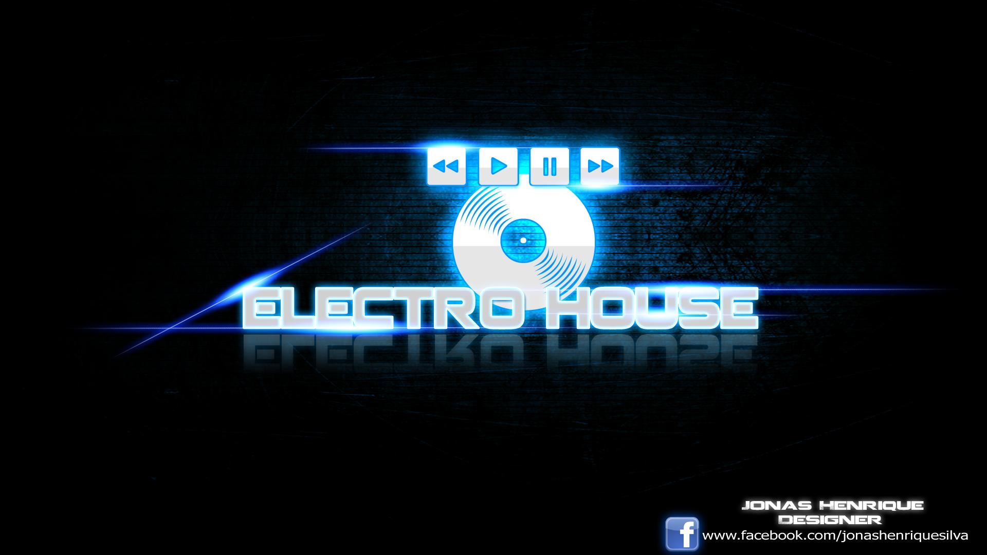 ELECTRO HOUSE Wallpaper by JonasDesigner on DeviantArt