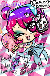 Shiffu Cupcake by missnokitty