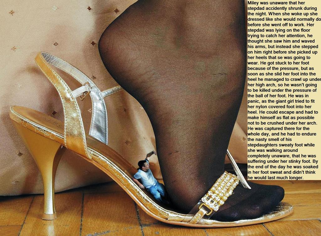 trapped in heels by Simsalabim45 on DeviantArt