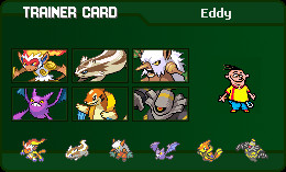 Eddy's Trainer Card by MDCCLXXVI