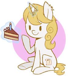 :Gift: Moar Cake by HigglyTownHero