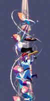 Steven Universe - Pearl + SPEEDPAINT