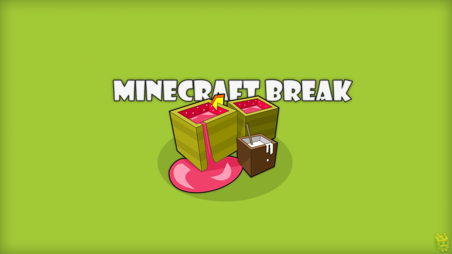 Best Wallpaper Minecraft Simple - minecraft_break___wallpaper_by_dentvanboo-d5mwhjn  Pictures_23488.jpg