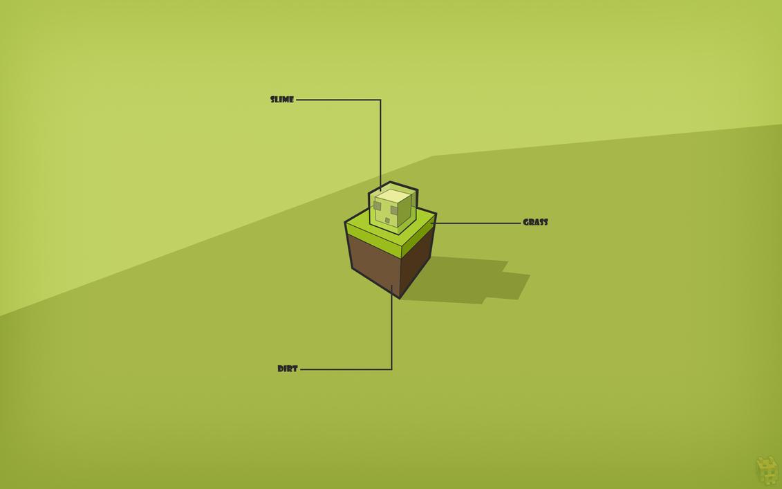 Top Wallpaper Minecraft Simple - minecraft_slime_wallpaper_by_dentvanboo-d5mwhpb  Pic_282930.jpg