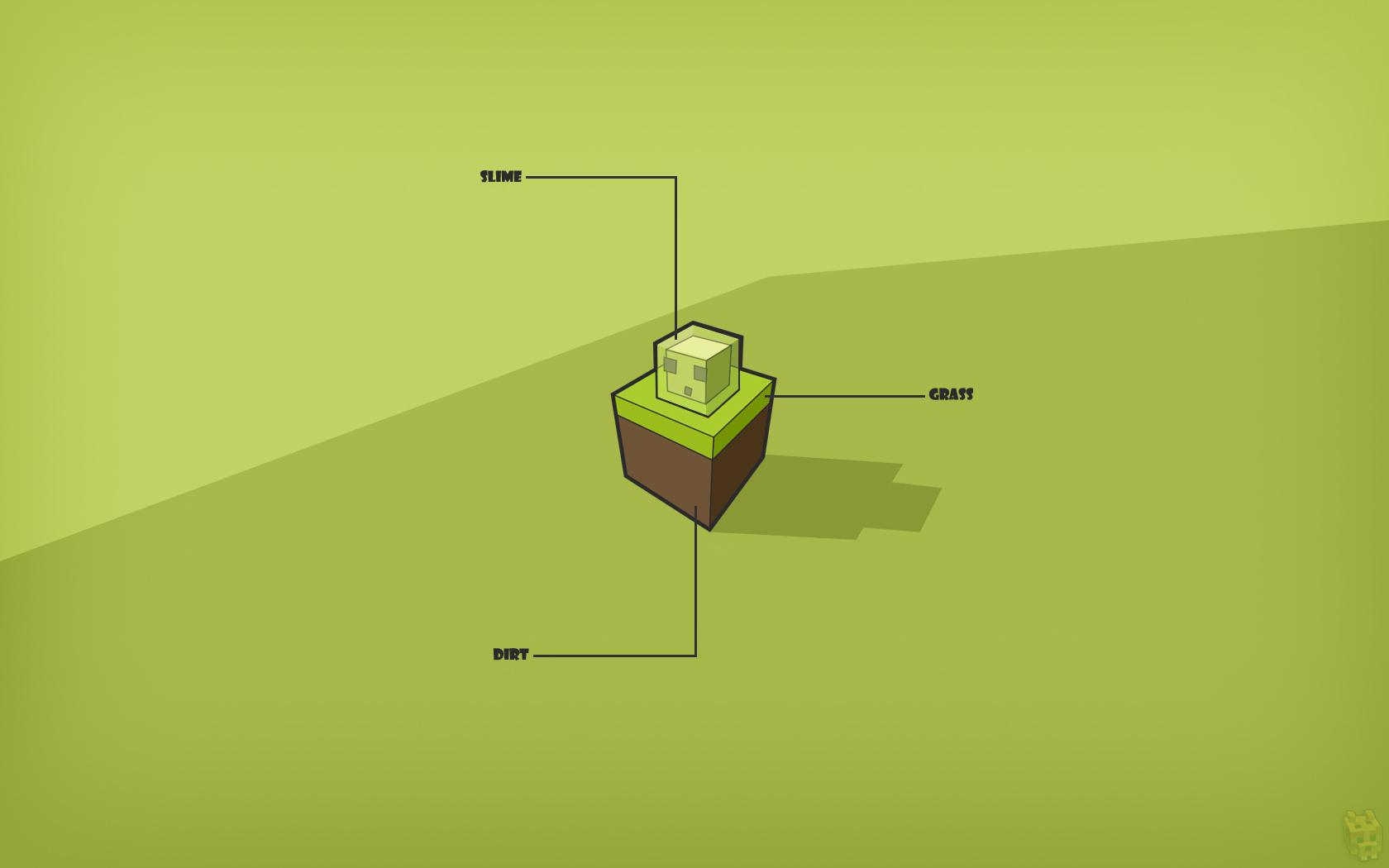 Fantastic Wallpaper Minecraft Green - minecraft_slime_wallpaper_by_dentvanboo-d5mwhpb  Photograph_586346.jpg