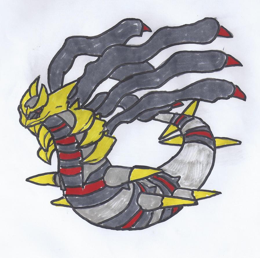 Pokemon Giratina Origin Form Images | Pokemon Images