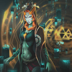 Midna Fan Art by jamayil