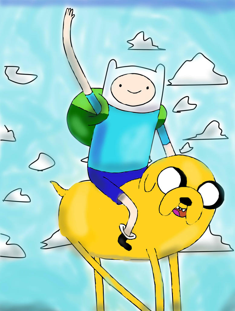 PAINTING TIME: ADVENTURE TIME! by Cokedark11