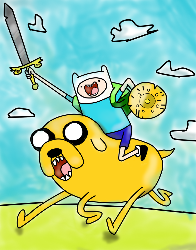 PAINTING TIME: FINN AND JAKE MATHEMATICAL BATTLE by ...